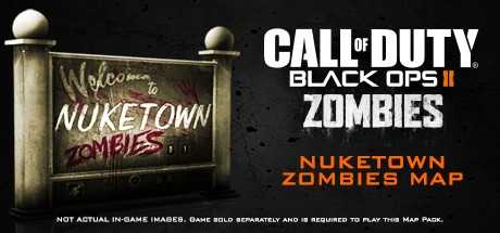 Call of Duty. Black Ops II. Nuketown Zombies Map дешевле чем в Steam