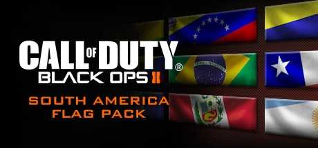 Call of Duty. Black Ops II. South American Flags of the World Calling Card Pack дешевле чем в Steam