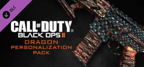 Call of Duty. Black Ops II. Dragon Personalization Pack дешевле чем в Steam