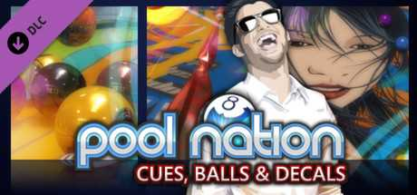 Pool Nation. Cues, Balls and Decals Pack дешевле чем в Steam