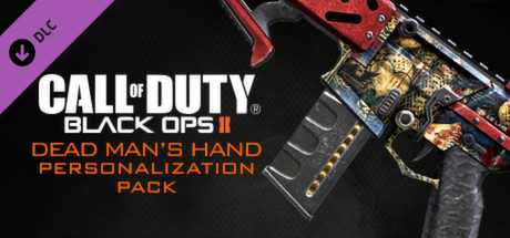 Call of Duty. Black Ops II. Dead Man's Hand Personalization Pack дешевле чем в Steam