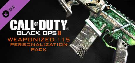 Call of Duty. Black Ops II. Weaponized 115 Personalization Pack дешевле чем в Steam