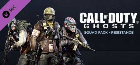 Call of Duty. Ghosts. Squad Pack. Resistance дешевле чем в Steam