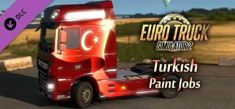 Купить Euro Truck Simulator 2. Turkish Paint Jobs Pack