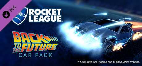 Rocket League. Back to the Future Car Pack дешевле чем в Steam