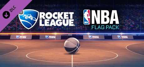 Rocket League. NBA Flag Pack дешевле чем в Steam
