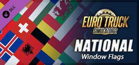 Купить Euro Truck Simulator 2. National Window Flags