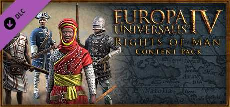 Content Pack. Europa Universalis IV. Rights of Man дешевле чем в Steam