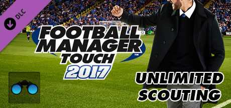 Football Manager Touch 2017. Unlimited Scouting дешевле чем в Steam