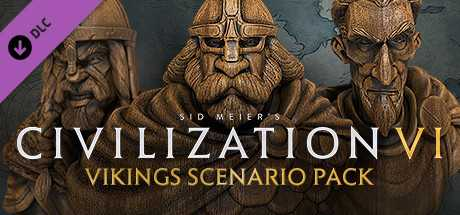 Civilization VI. Vikings Scenario Pack дешевле чем в Steam