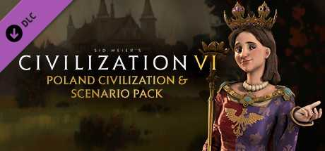 Civilization VI. Poland Civilization & Scenario Pack дешевле чем в Steam