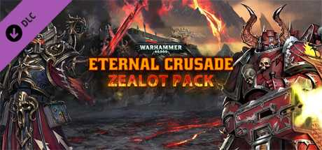 Warhammer 40,000. Eternal Crusade. Zealot Weapon Pack дешевле чем в Steam