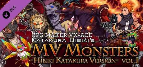 Скидка на RPG Maker VX Ace  MV Monsters HIBIKI KATAKURA ver