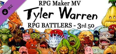 Скидка на RPG Maker MV  Tyler Warren RPG Battlers  3rd 50