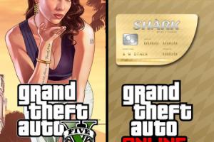Купить Grand Theft Auto V & Shark Cash Cards со скидкой
