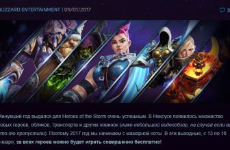 Все герои Heroes of the Storm бесплатно
