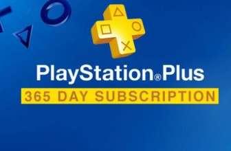 Скидка на подписку Playstation Plus на 1 год