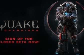 Приобрести ключ к ЗБТ Quake Champions