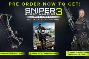 Уже можно купить Sniper Ghost Warrior 3 Limited Edition со скидкой